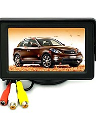 4.3 polegadas TFT LCD dobrável Retrovisor Camera monitor do carro