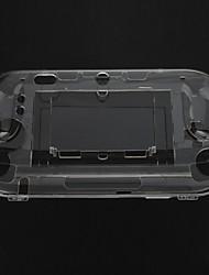 Crystal Clear Hard Case Capa Skin para Nintendo Wii U Gamepad Controle Remoto