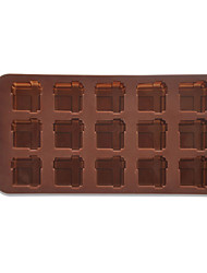 Silicone Gift Box Chocolate Candy Mold fabricant de plateau