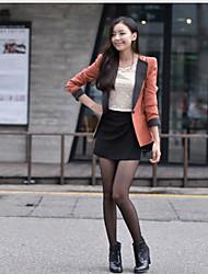 Collar a medida de las mujeres Dividir Manguitos larga Outwear