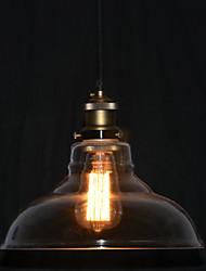 Североамериканский-Style 1 бронзовая подвеска свет в прозрачной тени