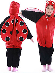 Active Coccinella Septempunctata Red Dress Kids Costume
