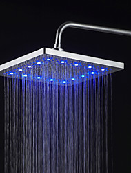 Contemporary Rain Shower Nickel Feature for  LED / Rainfall , Shower Head
