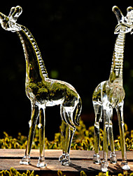 Girafes délicat verre souvenir