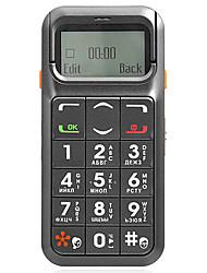 S738 +-integrado deslizante pantalla del teléfono para los ancianos con el botón grande, en pantalla grande (FM, linterna)
