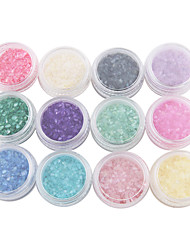 12-color Shell Powder Nail Art Decoration