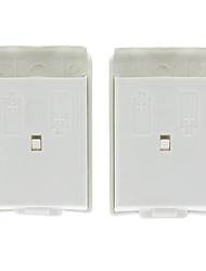Wireless Controller White Battery Pack Shell Cover for Micosoft Xbox 360