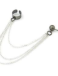Earring Clip Earrings Jewelry Women Daily Alloy