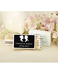 Karton Hochzeits-Dekorationen-12piece / Set Personalisiert Spiele sind nicht enthalten.