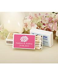 Papel Cartão Decorações do casamento-12Piece / Set Primavera Personalizado Fósforos não inclusos.