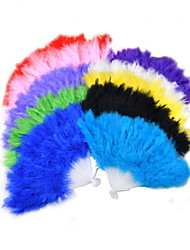 Soft Fluffy Feather Hand Fan(More Colors)