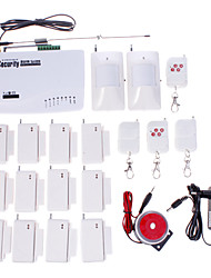 2011 Wireless Home GSM Security Alarm System / Alarms / SMS / Call / Autodial h