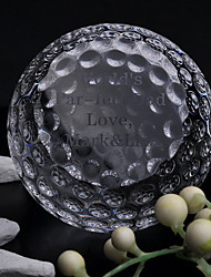 Gifts Bridesmaid Gift Personalized Golf Crystal Keepsake