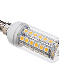 8W E14 Ampoules Maïs LED T 48 SMD 5050 650 lm Blanc Chaud V