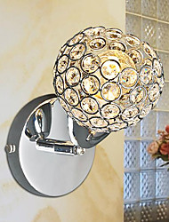 Modern Crystal Wall Light With Adjustable Arm 220-240V