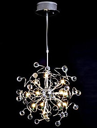 Crystal/Bulb Included Chandeliers , Modern/Contemporary Dining Room/Bedroom Metal