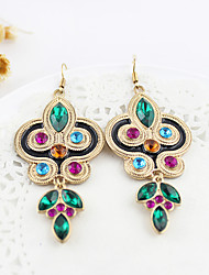 Bohemia Green Gem Earrings
