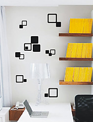 Abstract Squares Office Wall Stickers