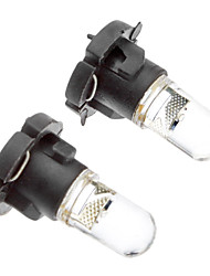 T4.2 2-led Car Dashboard Instrument Light/ Indicator Light Bulbs Dc 2pcs in Box (12v)