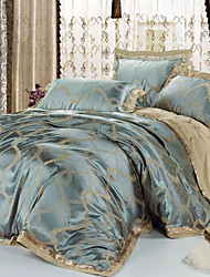Duvet Cover Sets , Blue / Grey