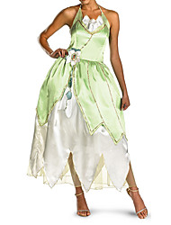 Flog Princess Green Dress Women's Costume