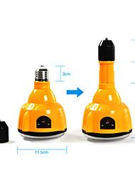 E27 4W светодиодная лампа белого аккумуляторная аварийное освещение Фонарь прожектор с дистанционным управлением (цис-57183)