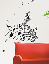 Music Score Wall Stickers