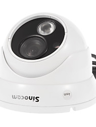 Sinocam® 1.0MP 4mm Day Night Vision Vandalproof Onvif IP Camera (Support Motion Detection,P2P)