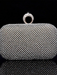 Shidaili Handmade Diamonade Silk Abendtasche / Clutches (03977-3) Gold