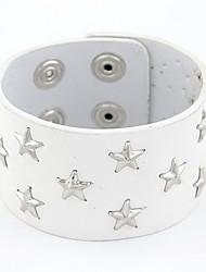 Similicuir charme avec le bracelet de alliage Star Femme (plus de couleurs)