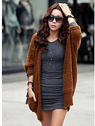 Женщин ватки мыса рукав пальто
