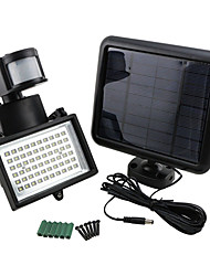 9975520 60-LED Helle Solar Power Motion Sensor Security Wall-Licht-Flut-Lampen-Scheinwerfer
