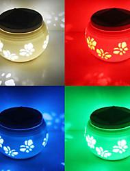 Butterflies Pattern  Hollowed-Out LED Solar Powered Garden Light -Solar Table Light- Solar Small Night Light In Jar Design