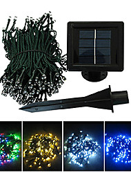 22M colores luces de la secuencia Blue Corn Christmas Decoration la luz de hadas de 200 LED (CIS-57182)