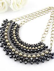 Un design unique! 42P20 romantique Chocker colliers bijoux Déclaration collier Livraison gratuite