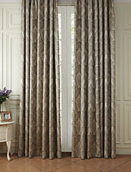 Two Panels Curtain Rococo Polyester Material Curtains Drapes Home Decoration For Window