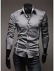 Camisa de manga larga Shangdu Personal (Gray)