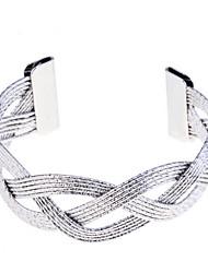 Полоса Вырезают Плетеный браслет манжеты (другие цвета)