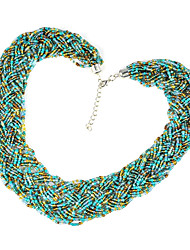 seed beaded necklacesNL-1218