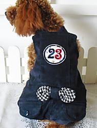 Linda Jeans bowknot 23 calças quentes globais para animais de estimação (cães variadas cores, tamanhos)