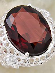 аметист кольцо