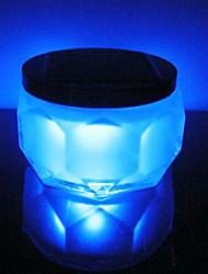 Crystal RGB Color-Changing Solar RGB LED Powered Garden Light -Solar Table Light- Solar Small Night Light In Jar Design