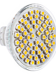 5W GU5.3(MR16) Spot LED 60 SMD 2835 360 lm Blanc Chaud AC 12 V