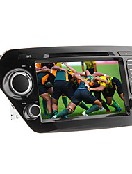 Android 2.3 8 polegadas no painel do carro dvd player para KIA K2 com 3G, GPS, Wi-Fi, RDS, IPOD, BT, DVB-T