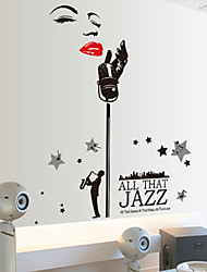 People Singer Wall Stickers