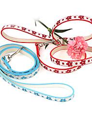 Новый Поводок для собак Pet Products Ведущего Собаки Пять красочных 120 см (разных цветов)