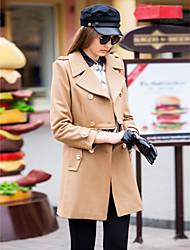 Женское длинное, классическое пальто
