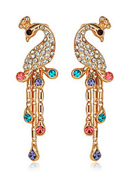 Delicate Alloy With Rhinestone Women's Earrings(More Colors)