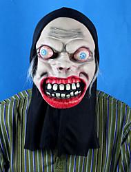 Boca Bloody Bloody ojos que resaltan la boca Máscara de Halloween