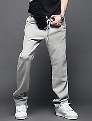PPZ Männer koreanischen Sports Lange Hose mit Gürtel (lichtgrau)